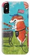 Patriotic Pups IPhone Case
