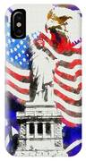 Patriotic Symbolism IPhone Case