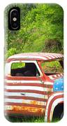Patriotic Truck IPhone Case