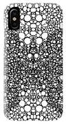 Pattern 35 - Intricate Exquisite Butterfly Pattern Art Prints IPhone Case