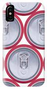 Pattern Drink Cans IPhone Case