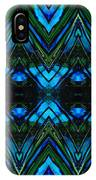 Patterned Art Prints - Cool Change - By Sharon Cummings IPhone Case