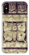 Pawnee Butterfly Frieze II IPhone Case