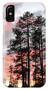 Payson Pines Sunset IPhone Case