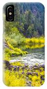 Peace And Tranquility In The Heart Of Feather River, Quincy California IPhone Case