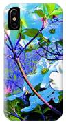 Peaceful Dogwood Spring IPhone Case