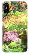 Peaceful Japanese Garden IPhone Case
