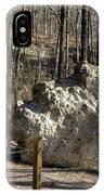 Peach Tree Rock-6 IPhone Case