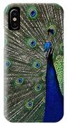 Peacock 18 IPhone Case