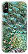 Peacock 9 IPhone Case