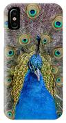 Peacock And Proud Plumage IPhone Case