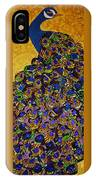 Peacock Blue IPhone Case