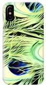 Peacock Colour IPhone Case
