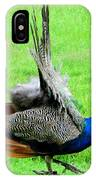 Peacock Courtship IPhone Case
