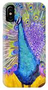Peacock Dance IPhone Case