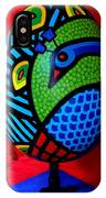 Peacock Egg II  IPhone Case