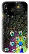 Peacock Explosion Display IPhone Case