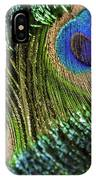 Peacock Eye And Sword IPhone Case