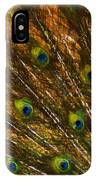 Peacock Feathers 2 IPhone Case