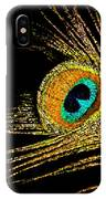 Peacock Feathers 7 IPhone Case