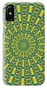 Peacock Feathers Kaleidoscope 2 IPhone Case