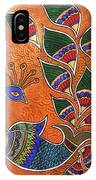 Peacock-fish IPhone Case