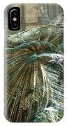 Peacock Flurry  IPhone Case
