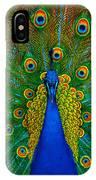 Peacock IPhone X Case