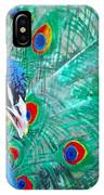 Peacock Love IPhone Case