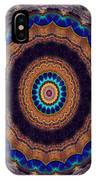 Peacock Pinwheel IPhone Case