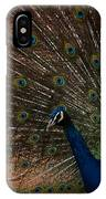 Peacock Show Off IPhone Case