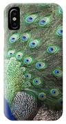 Peacock Up Close IPhone Case