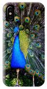 Peacock Wallpaper IPhone Case