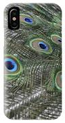Peacock's Feathers IPhone Case