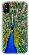 Peafowl Peacock IPhone Case