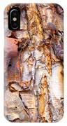 Pealing Bark Upclose IPhone Case