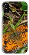 Pearl Crescent Butterfly IPhone Case