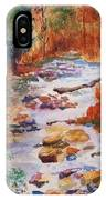Pebbled Creek IPhone Case