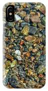 Pebbled Shore At Ullapool IPhone Case