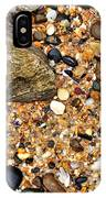 Pebbles And Sand IPhone Case