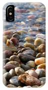 Pebbles On The Shore IPhone Case