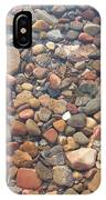 Pebbles Under Water IPhone Case