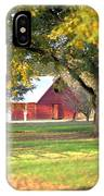 Pecan Orchard Barn IPhone Case