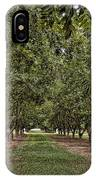 Pecan Orchard Sahuarita Arizona IPhone Case