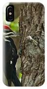 Pecking Woodpecker IPhone Case