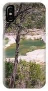 Pedernales River Pool In August IPhone Case