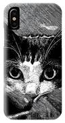 Peekaboo IPhone Case