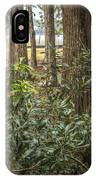 Peeking Through The Trees IPhone Case