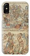 Peers And Commoners Fighting IPhone Case