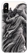 Pegasus Tamed By The Muses Erato And Calliope IPhone Case